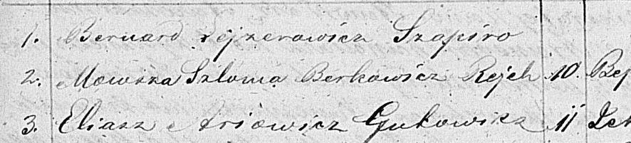 Regestr do księgi urodzin za rok 1868 /fot. szwa.pl