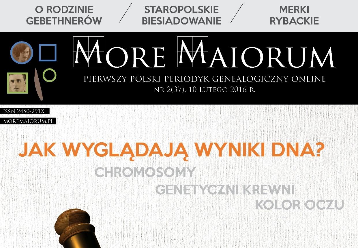 Rocznicowy numer More Maiorum