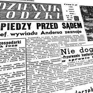 Dziennik Łódzki. 1948-03-05 R. 4 nr 64/ BC Regionalia Ziemi Łódzkiej