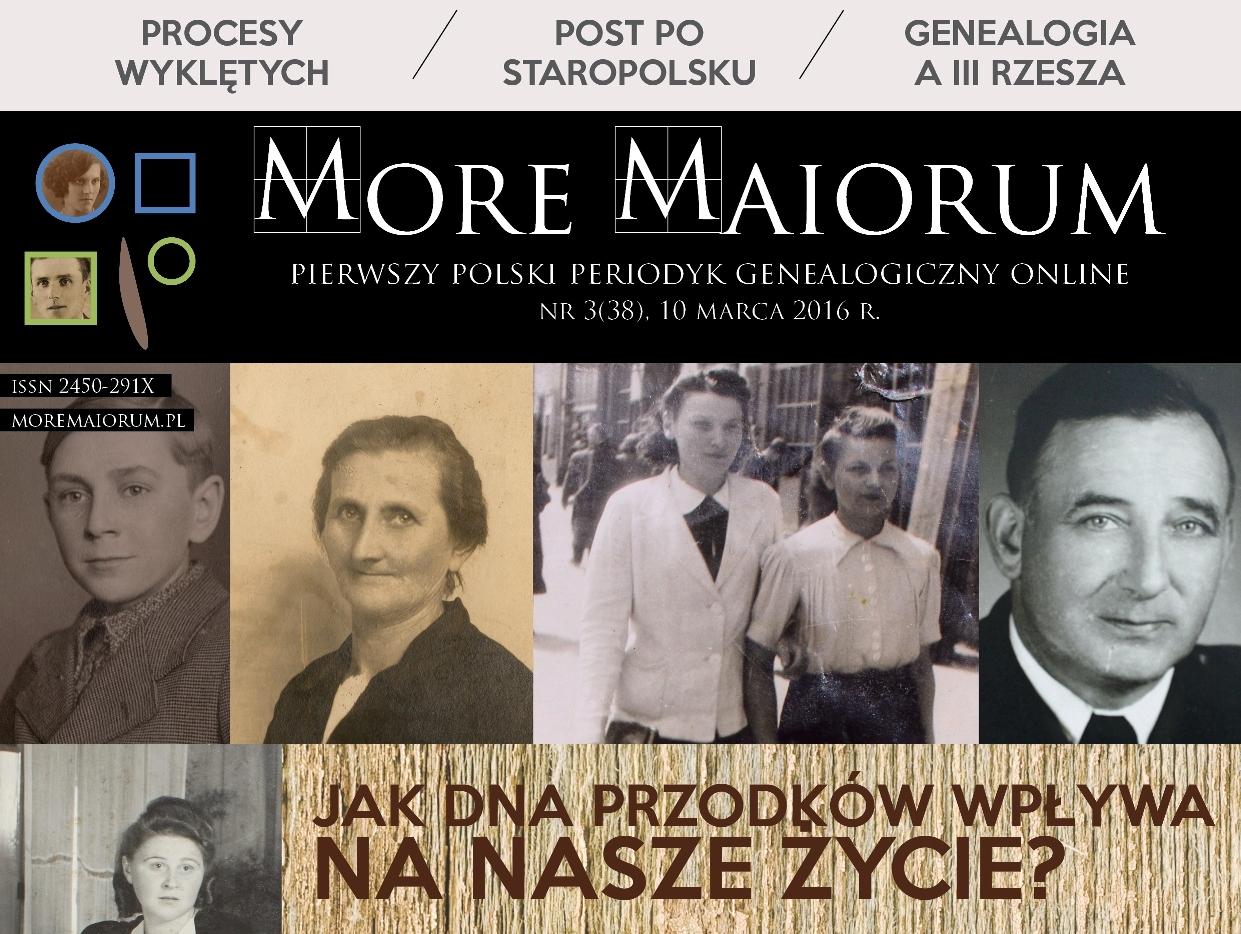 Marcowy numer More Maiorum