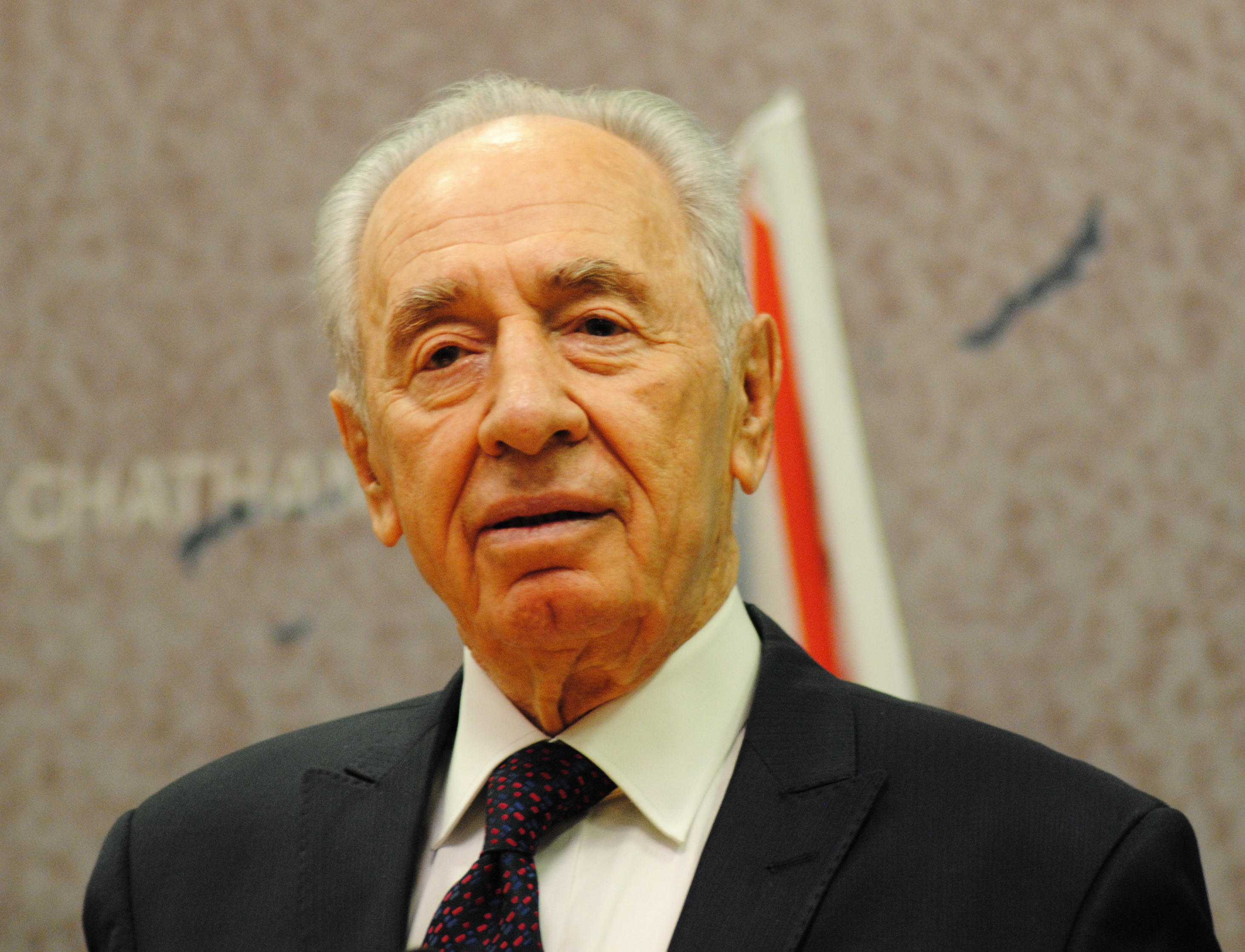 Szymon Peres, fot. Chatham House, CC 2.0, Wikimedia Commons