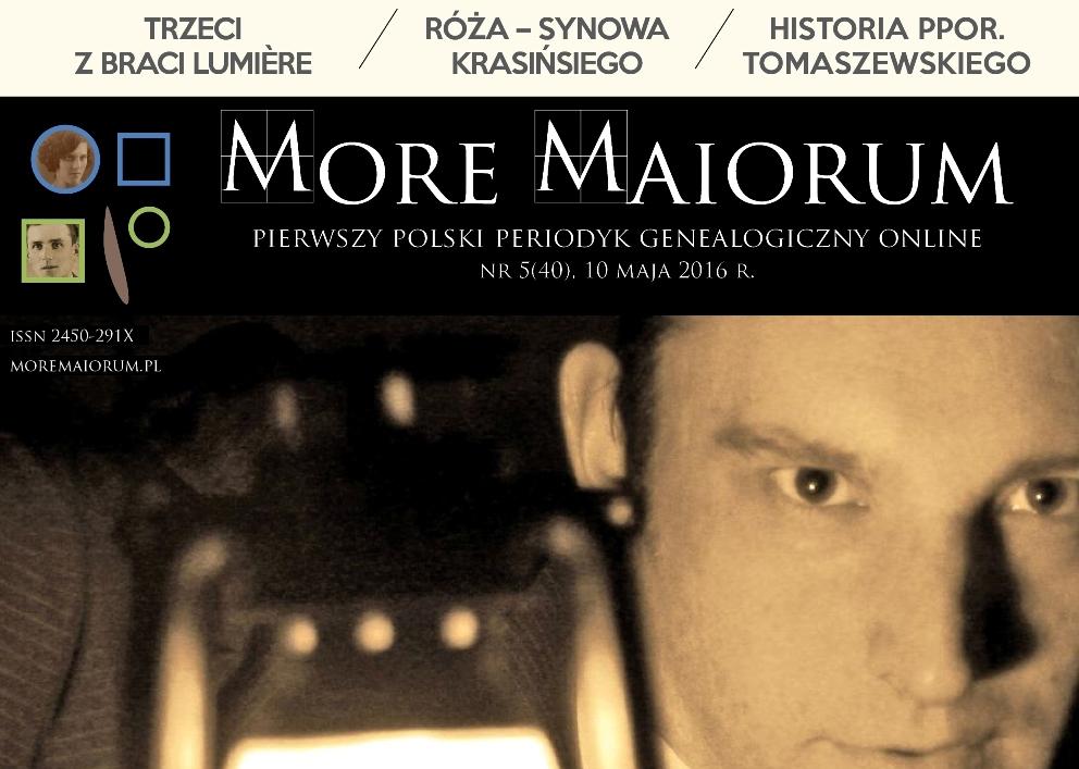 Majowy numer More Maiorum