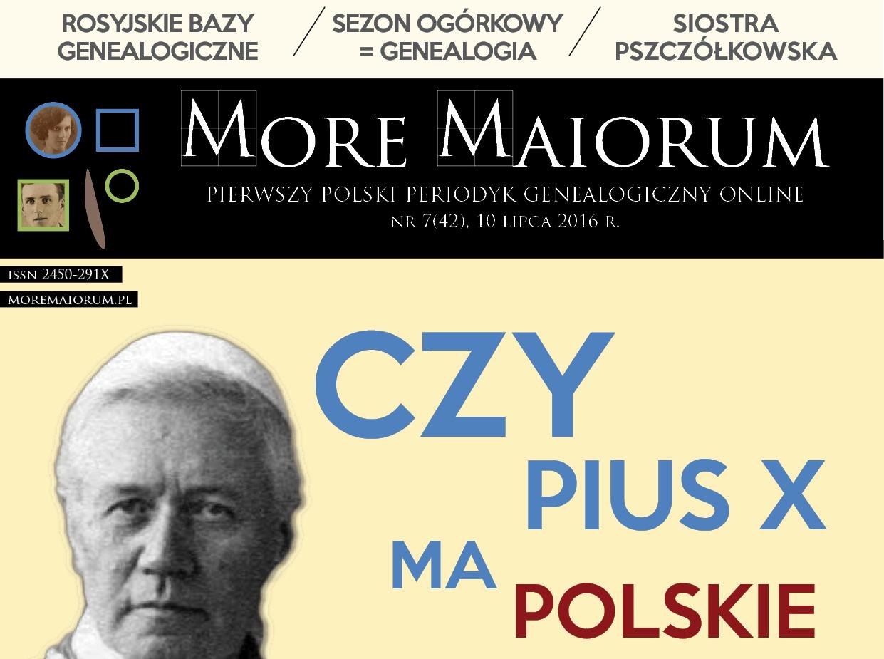 Lipcowy numer More Maiorum + dodatek o zawodzie młynarza