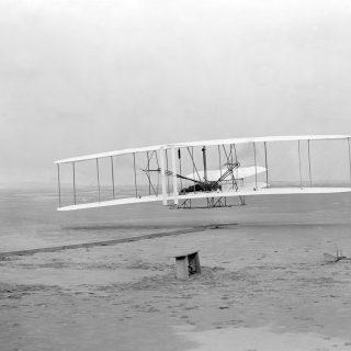 Samolot braci Wright/ fot. Wikimedia Commons