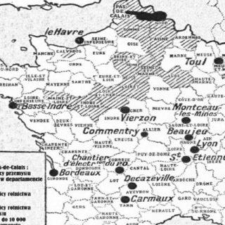 Polacy we Francji, rok 1925 - dziennik Le Petit Parisien, 1925/01/13 - L'Enquête du Petit Parisien Les Polonais en France