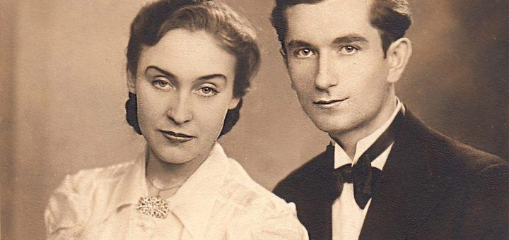 Maria Kowalska i Jan Chmielecki, Łódź, rok 1942/ fot. Marianna Różalska