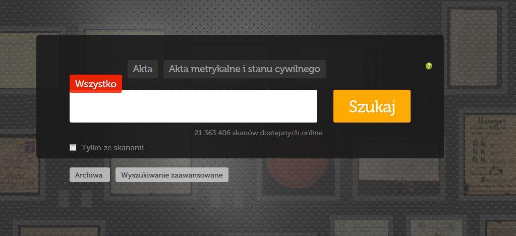Ponad 600 tysięcy nowych skanów w szukajwarchiwach.pl! [wykaz udostępnionych metryk]