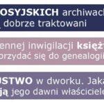 Polscy badacze w rosyjskich archiwach i akta kleru w badaniach rodzinnych [październikowy numer More Maiorum]