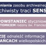 Akta PRL-u w służbie genealogii, poszukiwania bohaterów wielkopolskich i historia polskiego krewnego św. Franciszka [styczniowy numer More Maiorum]