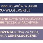 [wrześniowy numer More Maiorum] Polacy w armii austro-węgierskiej i przodkowie-kolejarze