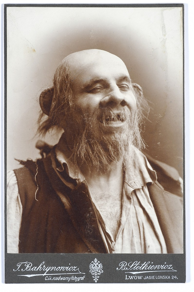 Ferdynand Feldman jako Wodnik w Zatopionym dzwonie Gerharta Hauptmanna, ok. 1910 r./ fot. Wikimedia Commons