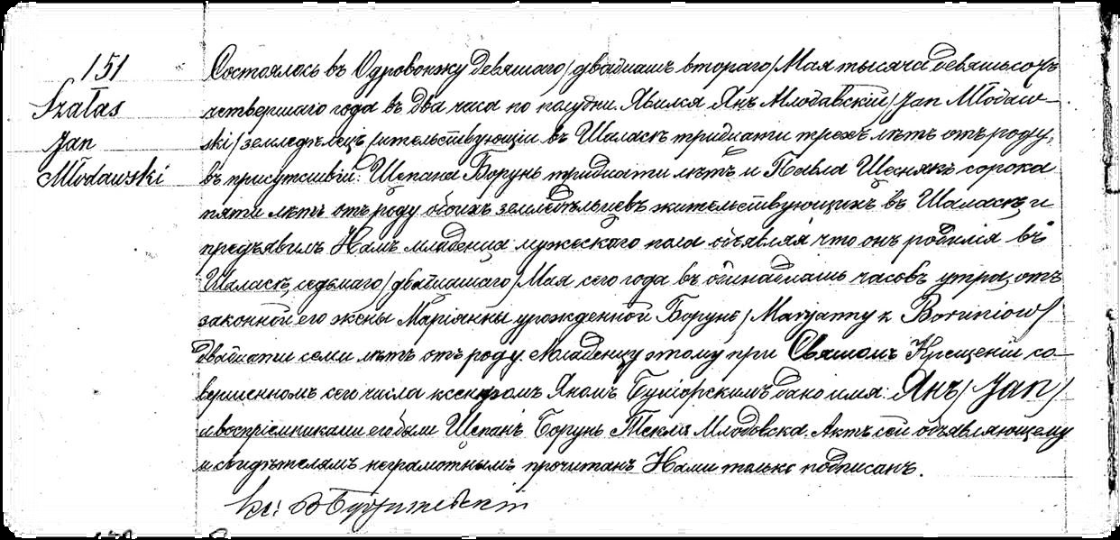Najnowsze Jak odczytywać rosyjskie metryki? [chrzty, śluby, zgony + mini GH55