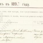 Bezpłatny dostęp do skanów z archiwum w Petersburgu!