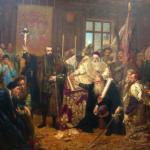 Akt Unii Lubelskiej z 1569 roku. Zobacz oryginał w AGAD