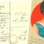 Źródło do genealogii: widokówka wysłana przez przodka