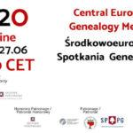 Środkowoeuropejskie Spotkania Genealogiczne 2020 online
