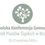 7. Ogólnopolska Konferencja Genealogiczna w Brzegu już w ten weekend